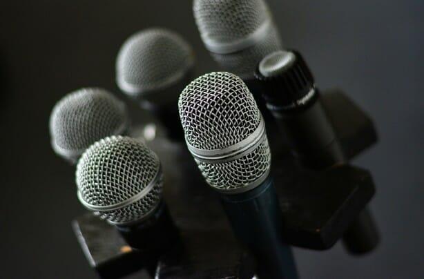 Technika nahrávání – mikrofon